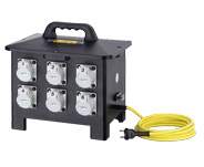 Safety and Isolation Transformers in Solid Rubber Housing