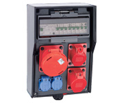 Stationary Power Distribution Boxes – Solid Rubber and Wall-Mounted